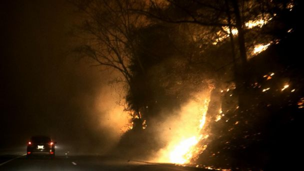 VIDEO: Tennessee Prosecutors Say Wildfires Were Intentional