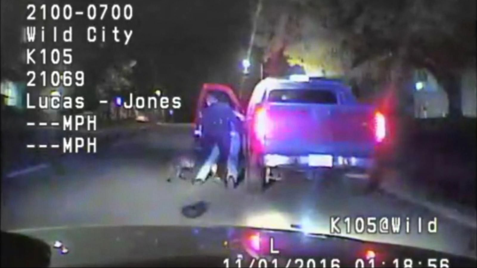 VIDEO: Video Released in Police-Involved Shooting That Left Driver Paralyzed