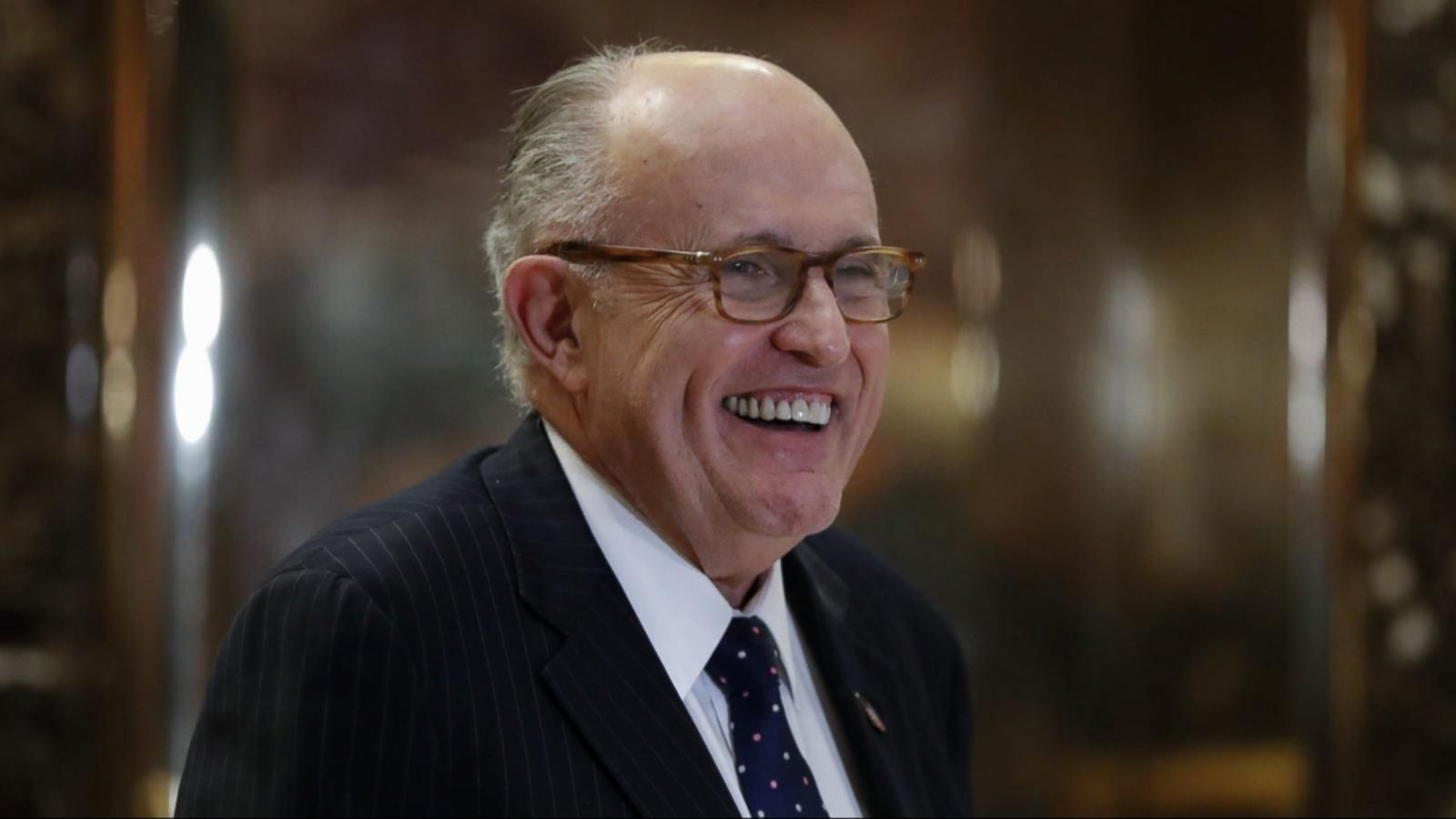 VIDEO: Rudy Giuliani Removes Himself From Consideration for Secretary of State