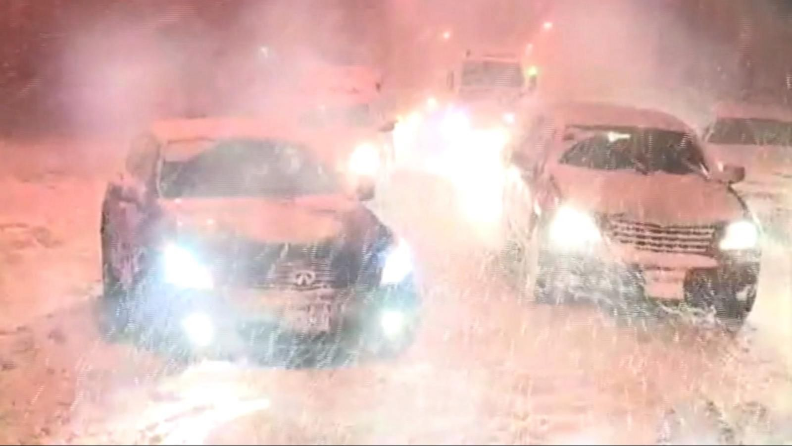 VIDEO: Frigid Temperatures Set in for Millions Around the US