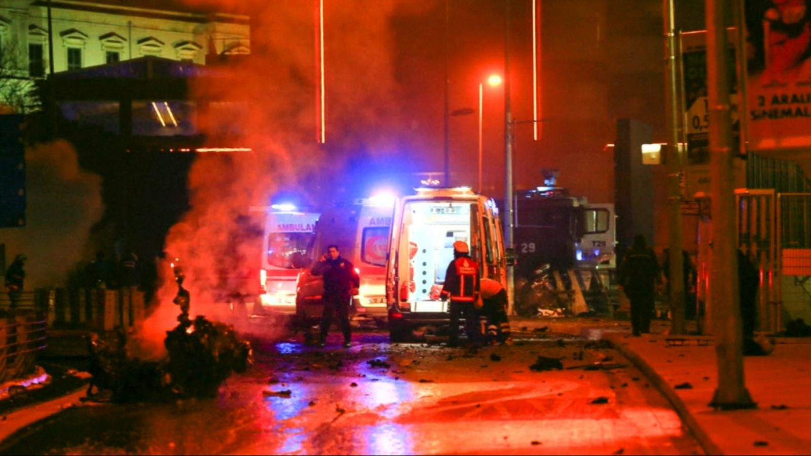 VIDEO: Powerful Twin Explosions Occur Outside Major Soccer Stadium in Istanbul, Turkey