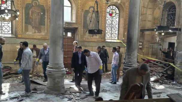 VIDEO: Terror Attack Targets Women and Children at Main Christian Cathedral in Cairo
