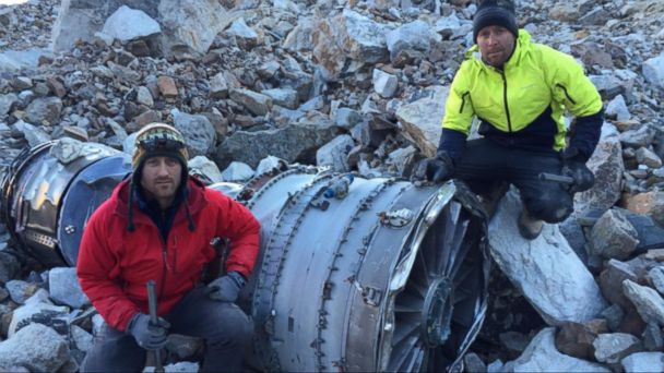 VIDEO: Two Boston Explorers Search Decades Old Plane Crash Site