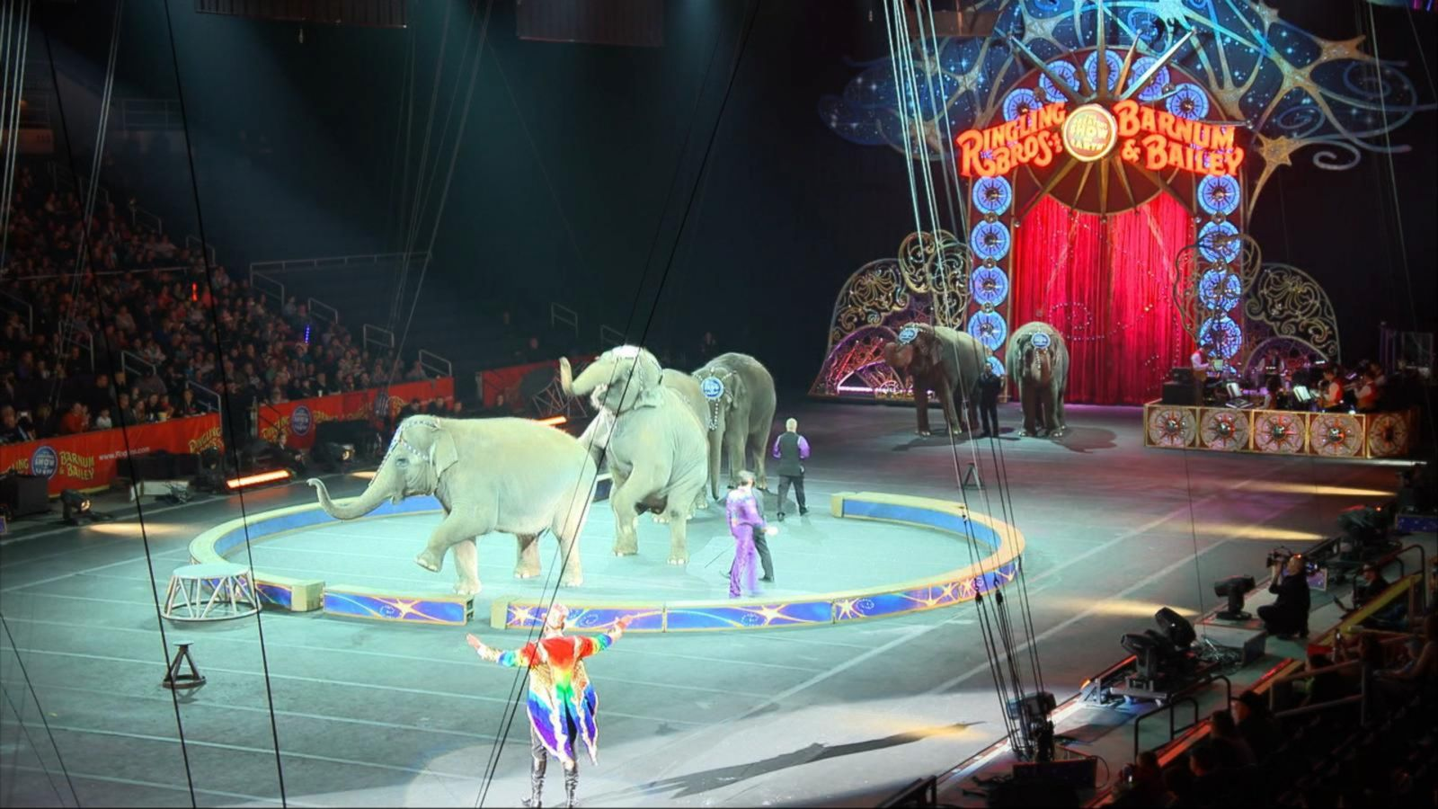 VIDEO: Ringling Brothers Barnum and Bailey Circus Call It Quits After Century and a Half of Entertainment