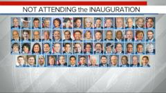 VIDEO: List of Congress Members Boycotting the Inauguration Grows as Trump Arrives in Washington