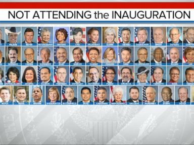 WATCH:  List of Congress Members Boycotting the Inauguration Grows as Trump Arrives in Washington