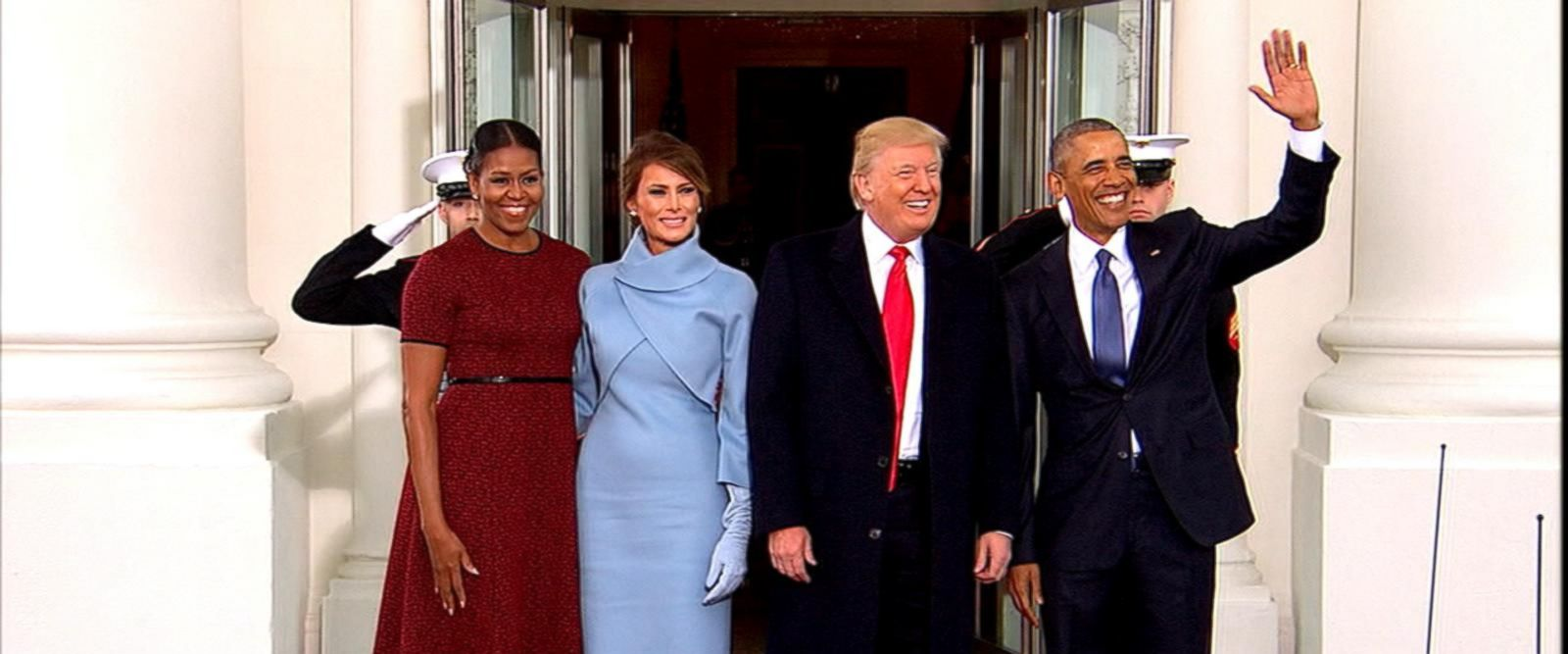 VIDEO: President Trump and the Private Moments With President Obama