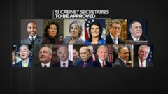 VIDEO: Trump Cabinet Nominees Waiting for Approval