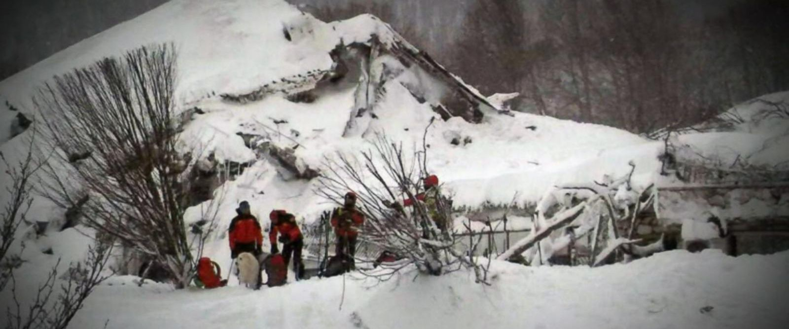 VIDEO: Miraculous Stories of Survival After an Avalanche Buries a Luxury Hotel in Italy