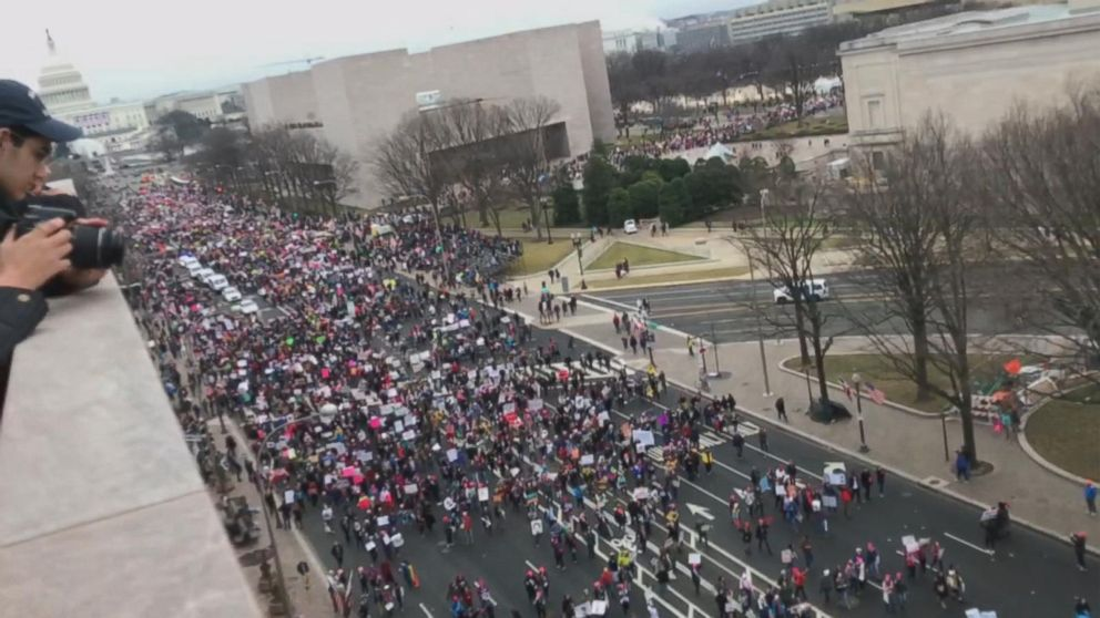 WATCH:  Trump's First Day in Office Met by Demonstrations in Multiple Cities Around the US