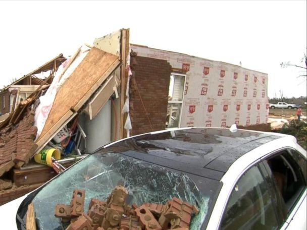 WATCH:  Tornado Outbreak Tears Across the Southeast