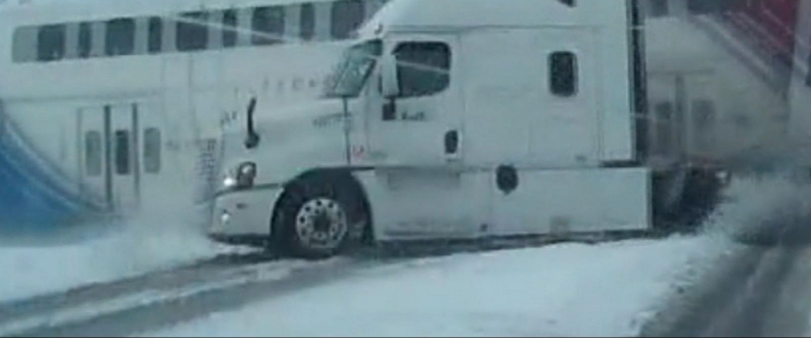 VIDEO: Train Collides With FedEx Truck in Utah