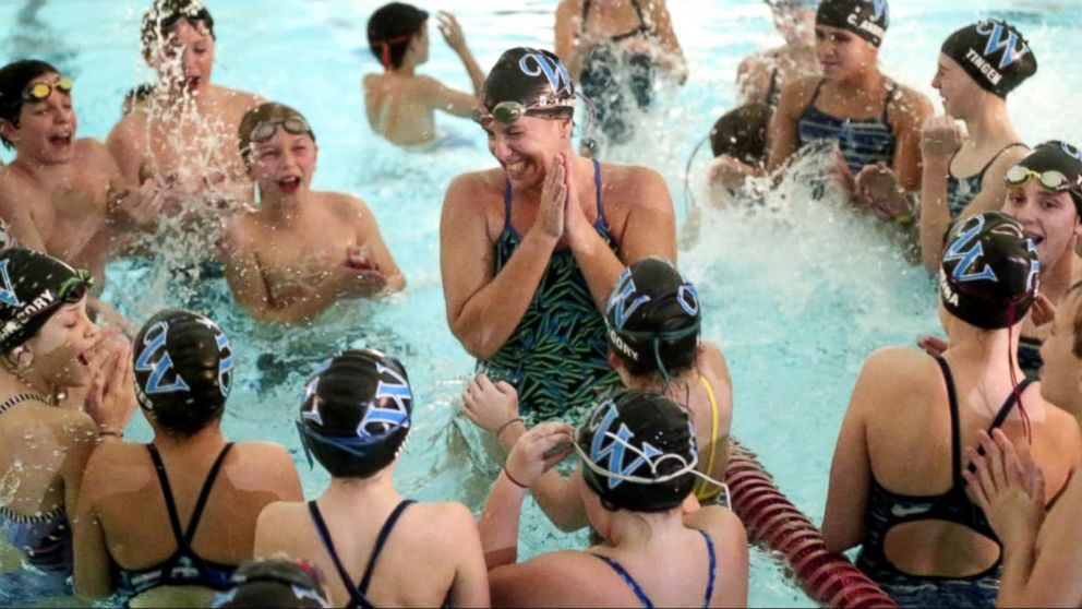 VIDEO: Virginia Mom With MS Swims the Distance
