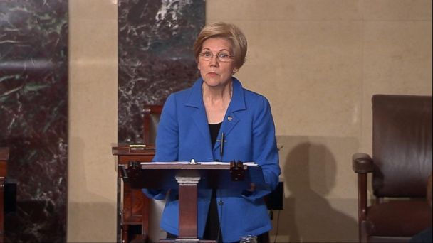 VIDEO: Elizabeth Warren Silenced on the Senate Floor