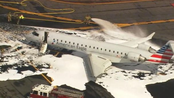 VIDEO: A deer causes a takeoff emergency at an airport in North Carolina