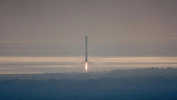 VIDEO: Successful SpaceX launch makes history