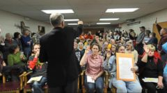 VIDEO: Town hall meetings heat as Americans come face to face with members of Congress