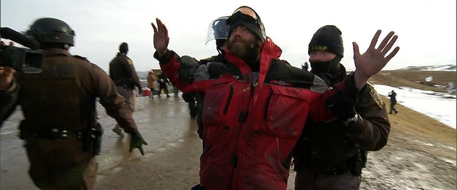 VIDEO: Dramatic final showdown over the Dakota Access Pipeline