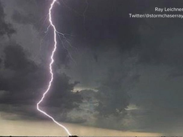 WATCH:  Severe weather threat moves east