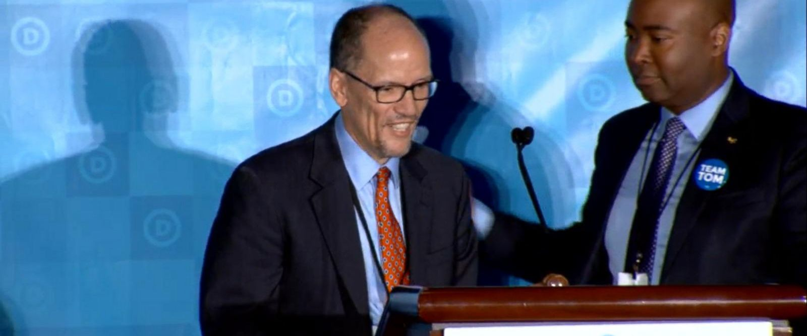 VIDEO: Tom Perez becomes the new national chair of the Democratic Party