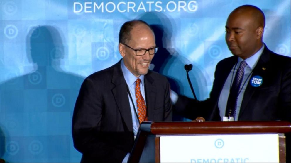 WATCH:  Tom Perez becomes the new national chair of the Democratic Party
