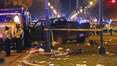 VIDEO: 28 people injured in Mardi Gras truck incident
