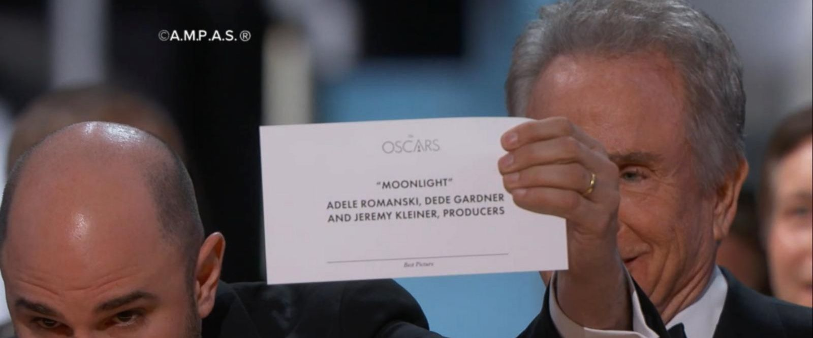VIDEO: Wrong movie announced for best picture at the Oscars