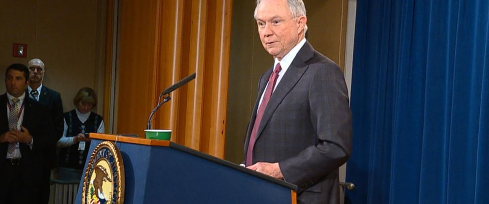 VIDEO: AG Jeff Sessions recuses himself from investigations into alleged Trump-Russia ties