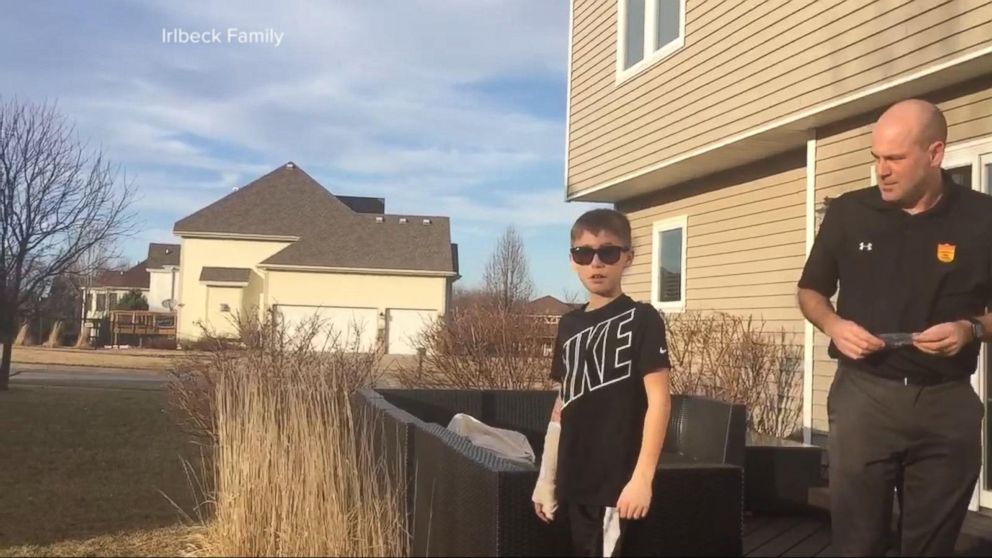 VIDEO: The moment a colorblind boy sees what he's been missing for the 1st time