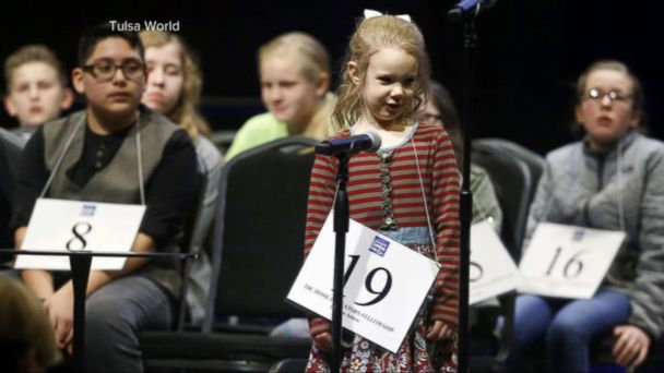 VIDEO: 5-year-old becomes youngest ever to qualify for the Scripps National Spelling Bee
