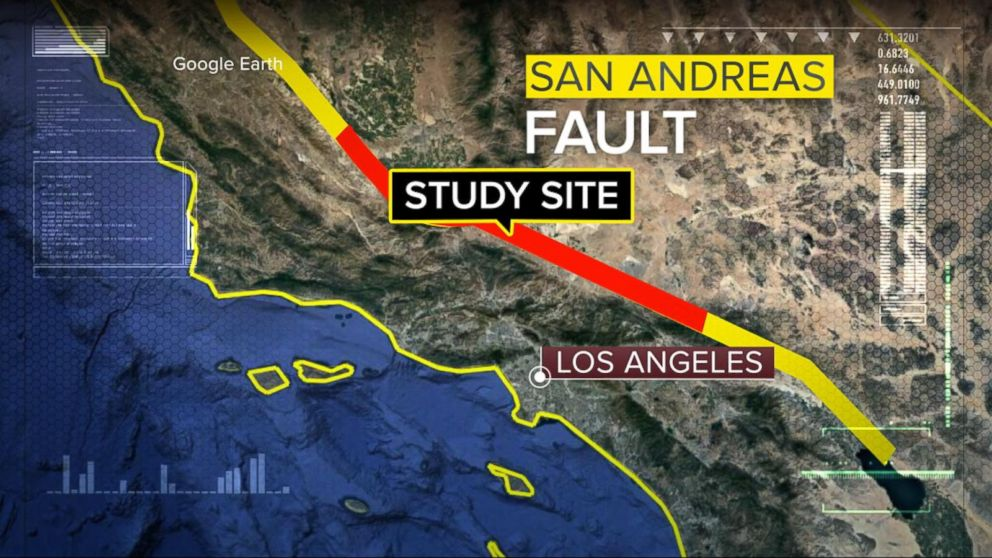 Image result for san andreas fault