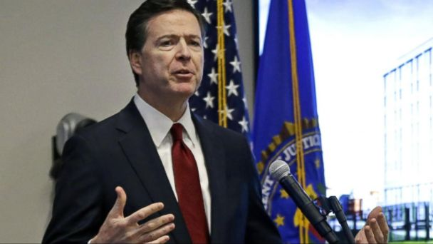 VIDEO: FBI Director James Comey attends private meeting with top lawmakers