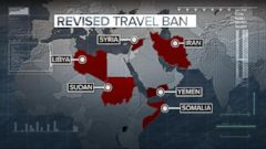 VIDEO: Judges in Hawaii and Maryland put key parts of Trumps travel ban on hold