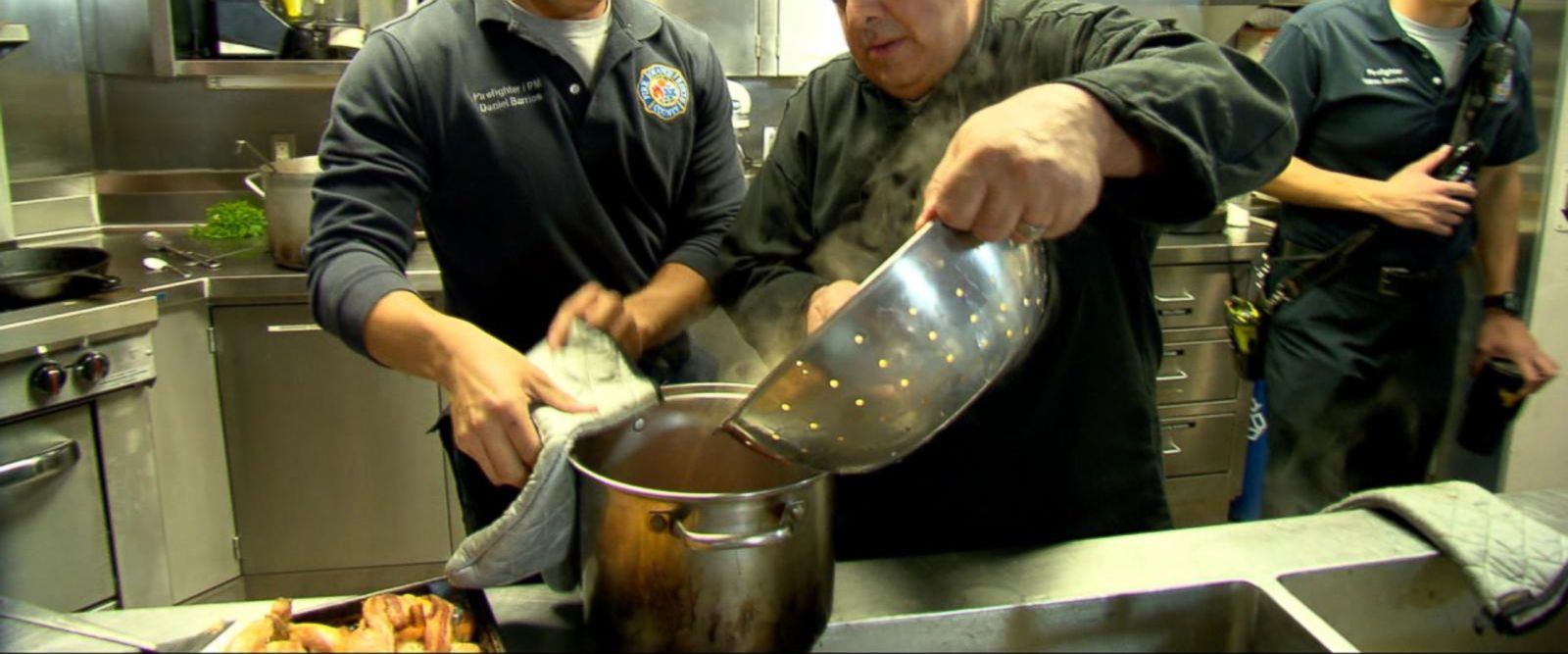 VIDEO: Florida chef makes promise to cook for every firehouse in the state
