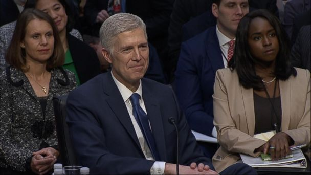 VIDEO: Hearing for Supreme Court nominee takes place on Capitol Hill