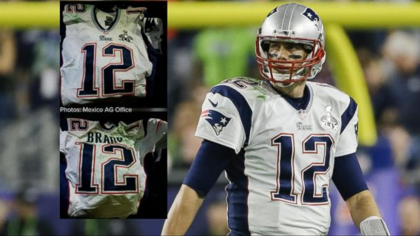 VIDEO: New video appears to show moment Tom Brady's Super Bowl jersey was taken