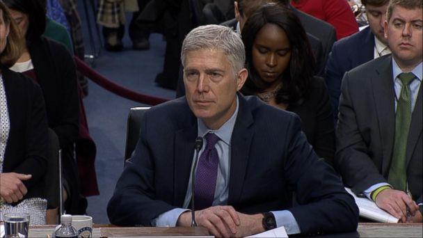 VIDEO: Supreme Court nominee faces tough questions from senators
