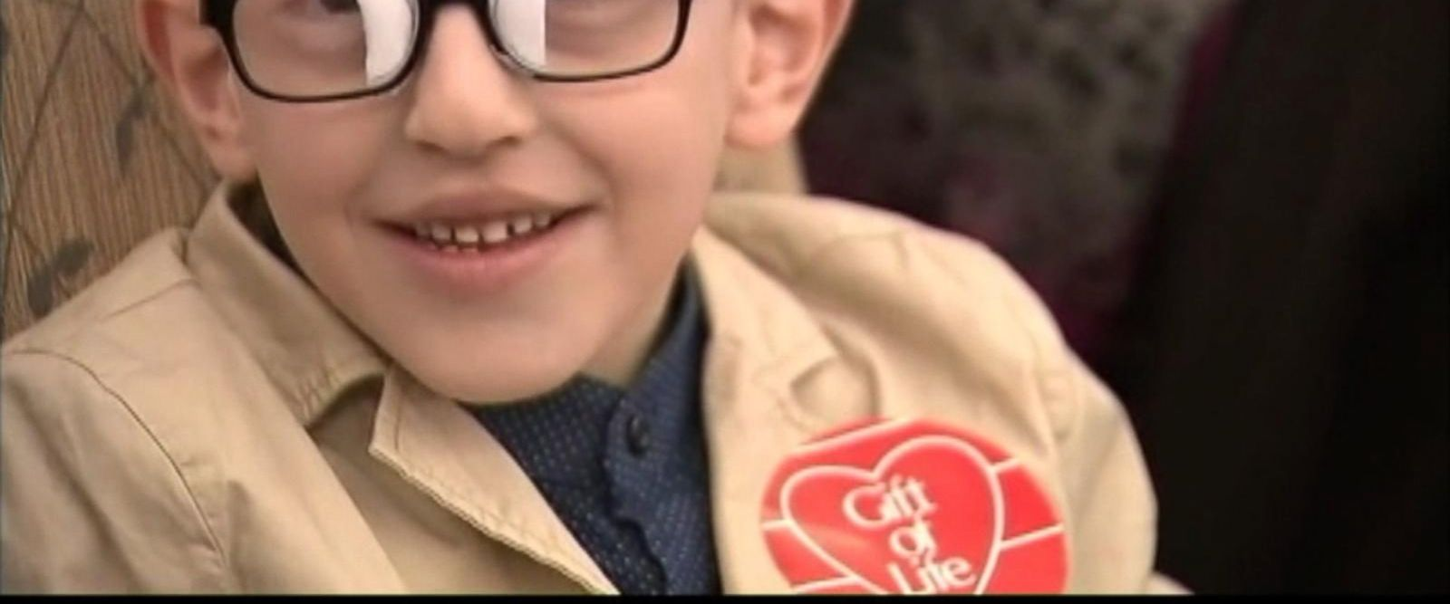 VIDEO: A little boy from Kosovo travels to New York for life-changing heart surgery