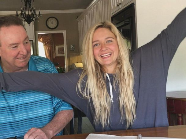 WATCH:  Teenager receives special sweet 16 birthday present from her grandfather