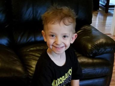 WATCH:  Homecoming for 5-year-old cancer survivor