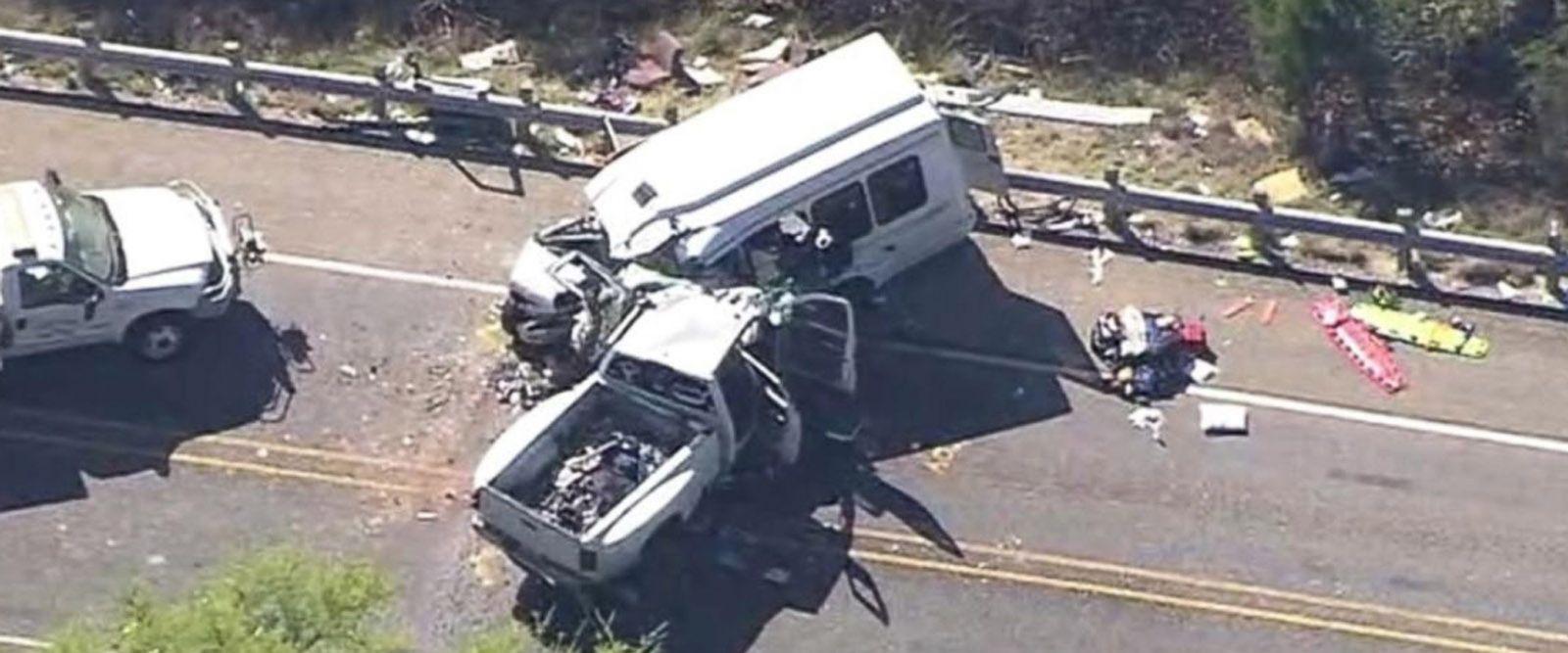 VIDEO: 12 dead in Texas church bus crash