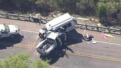 VIDEO: 12 dead in Texas church bus crash