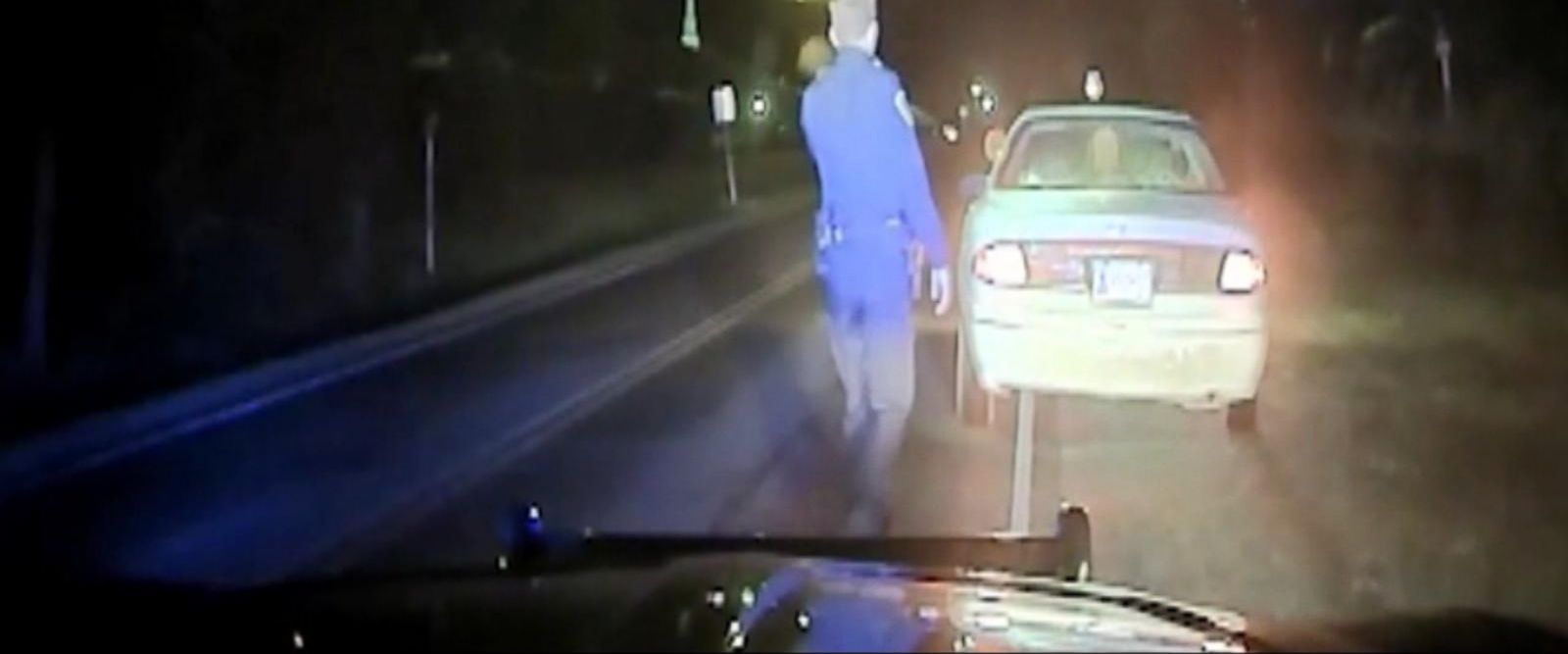 VIDEO: Rookie Oklahoma police officer dies after exchanging gunfire with suspect with broken taillight