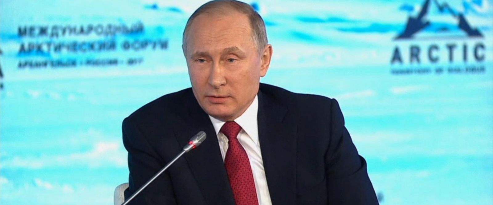 VIDEO: Putin rejects accusations that Russia interfered with US election