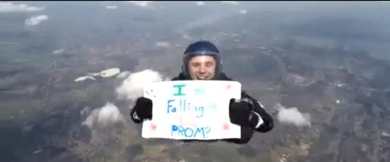 Video: High School Senior Takes Leap Of Faith When Asking A Girl To The Prom