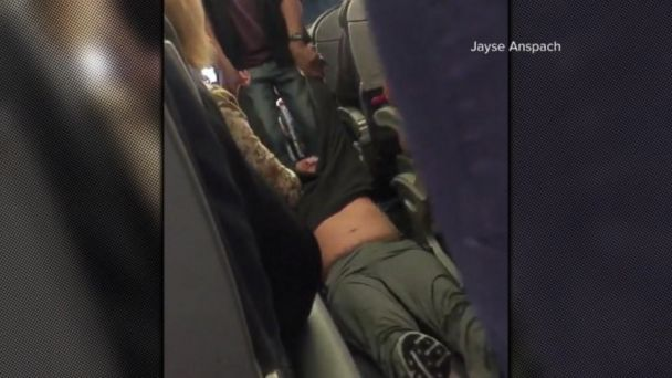 VIDEO: United Airlines passenger apparently dragged off flight after refusing to give up seat