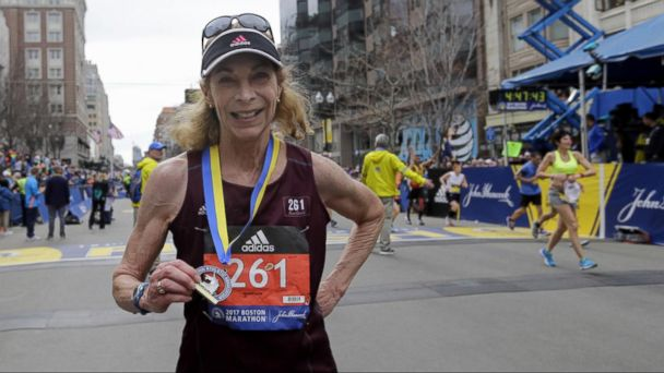 VIDEO: The 121st Boston Marathon included the first woman to officially run the race 50 years ago