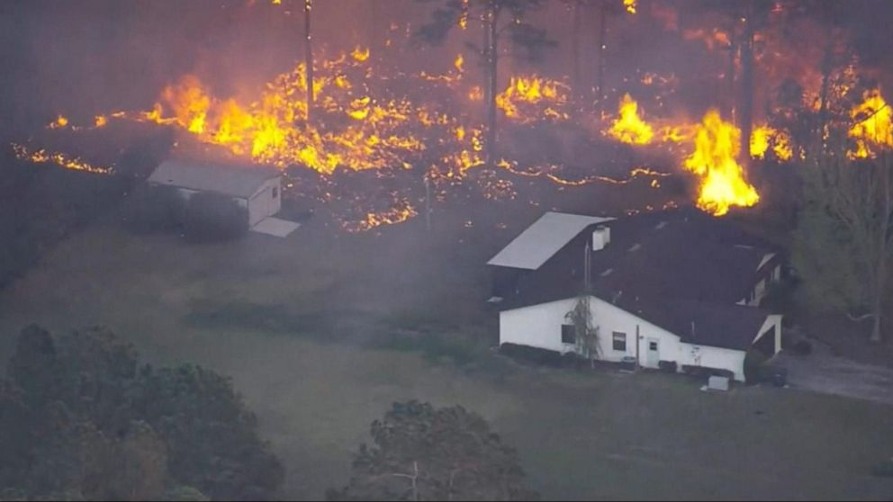 WATCH:  Brush fires lead to a state of emergency in Florida