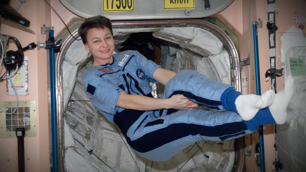 Astronaut Peggy Whitson Holds Records For Longest Time In
