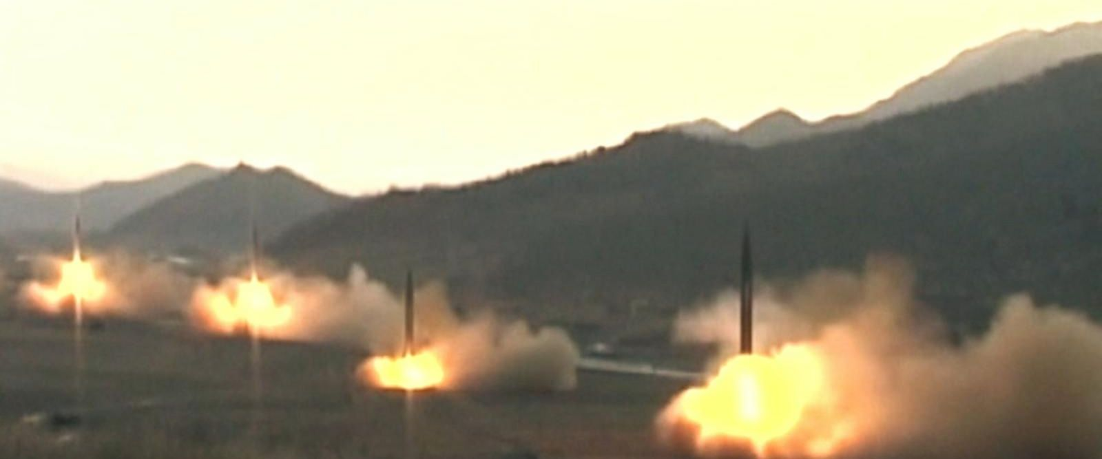 VIDEO: North Korea test-fires missile that broke up shortly into flight
